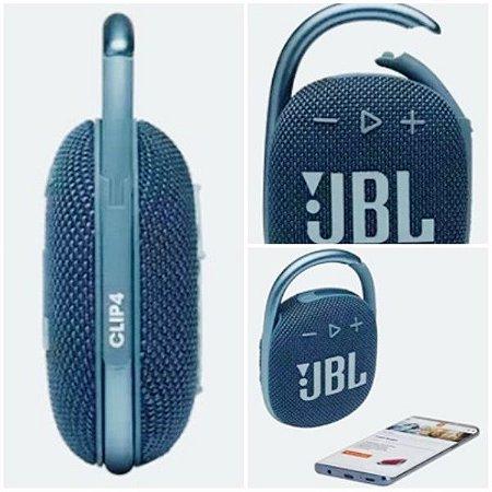 Caixa de Som JBL Bluetooth CLIP 4 ( Blue )