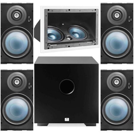 Kit Home 5.1 AAT ( 1 cx LCR A100 + 4cxs LRE100 + Sub Comp Cube 10 )