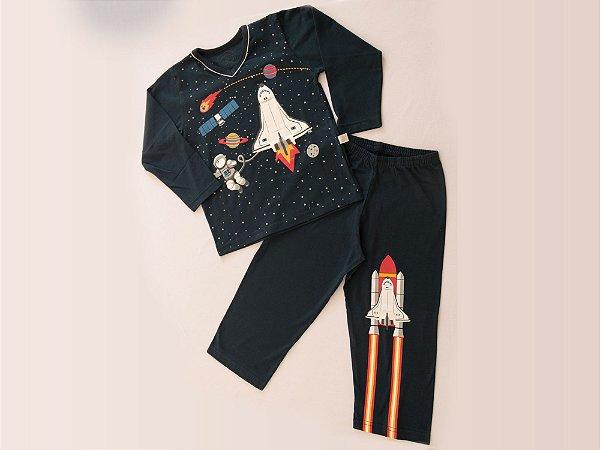 Pijama Astronauta Longo M/Malha