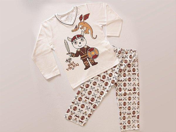 Pijama Biel Vicking Longo M/Malha