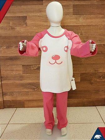Pijama Ursa Longo Suedine