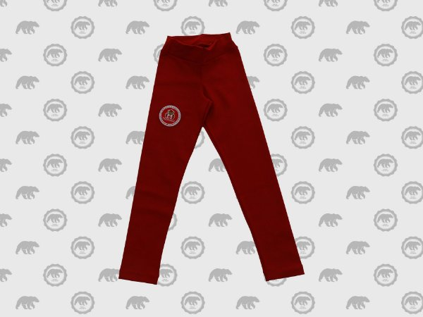 Calça Legging Feminina Infantil Uniforme Maple Bear