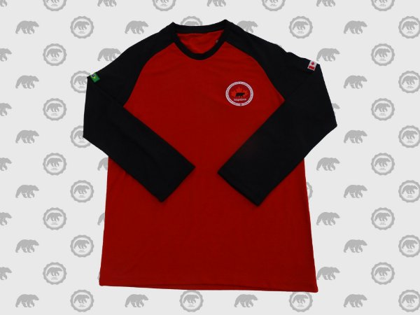 Camiseta Manga Longa Masculina Fundamental II Uniforme Maple Bear