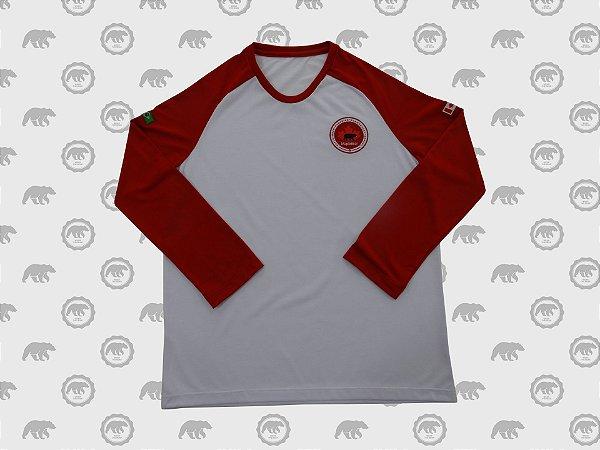 Camiseta Manga Longa Masculina Fundamental Uniforme Maple Bear