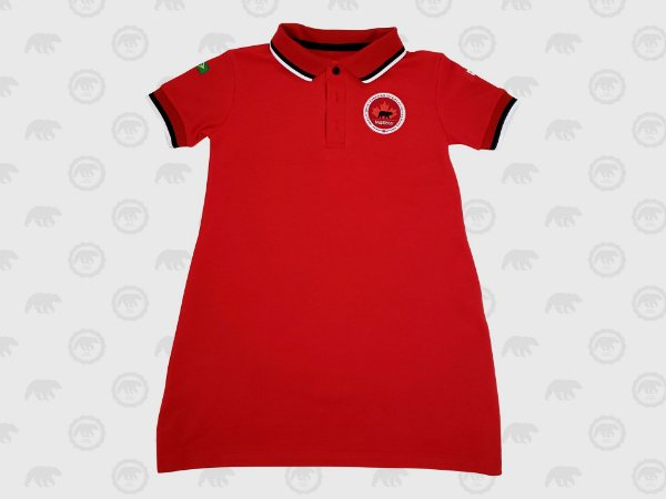 Vestido Piquet Fundamental Uniforme Maple Bear