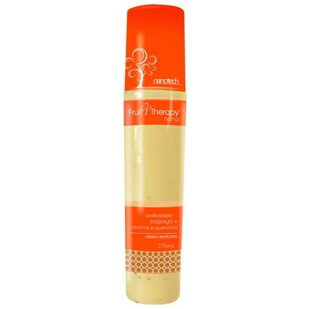 Condicionador Papaya 275ml Fruit Therapy Nano Left Cosméticos