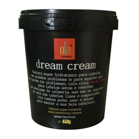 Dream Cream 450g Máscara Super Hidratante Lola Cosmetics