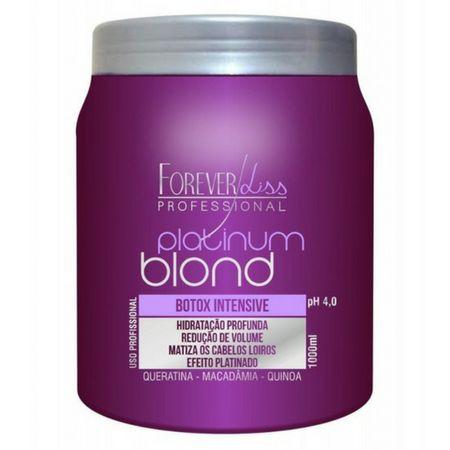 Btox Matizador Intensive Platinum Blond 1Kg Forever Liss