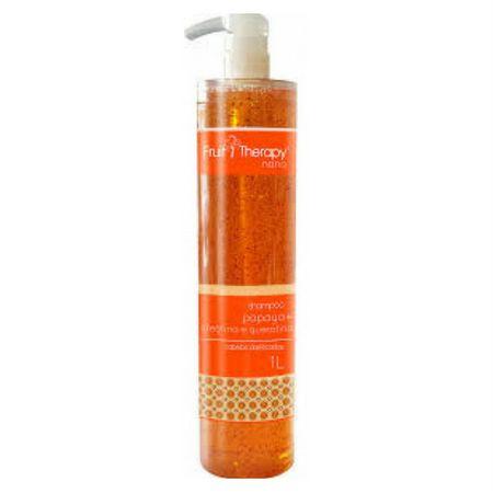 Shampoo Papaya 1L Fruit Therapy Nano Left Cosméticos