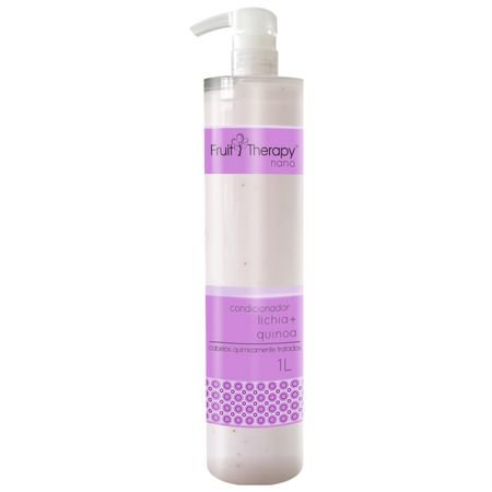 Condicionador Lichia 1L Fruit Therapy Nano Left Cosméticos