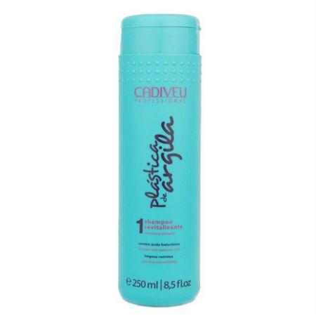 Shampoo Revitalizante 250ml Plástica de Argila Cadiveu