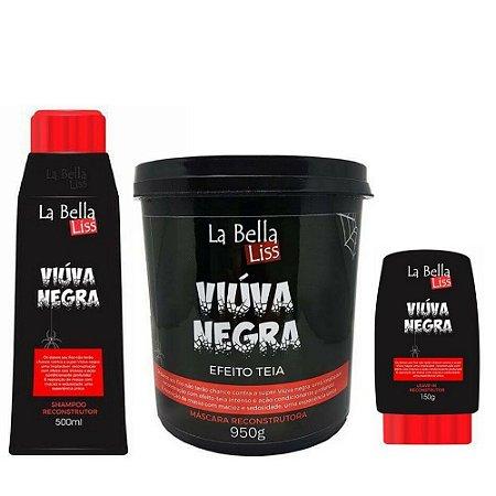 Kit Viúva Negra 500mlX1KgX150g La Bella Liss