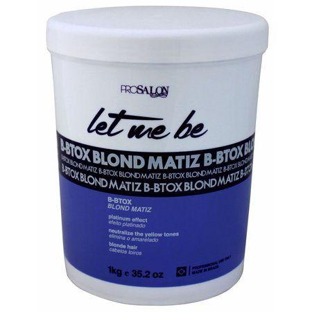 Botox Matizador B-Btox Blond Let Me Be 1Kg Prosalon