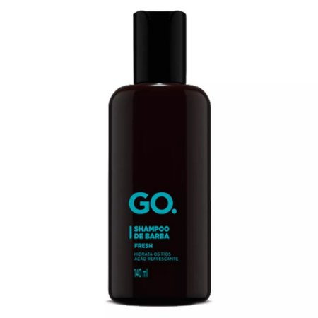 Shampoo de Barba Fresh 140ml GO.