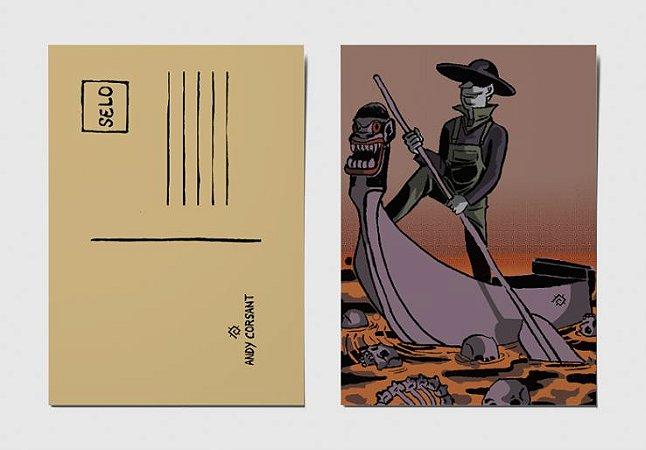 Cartão Postal Caronte Brasil
