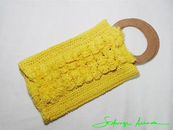 Bolsinha Retrô amarela