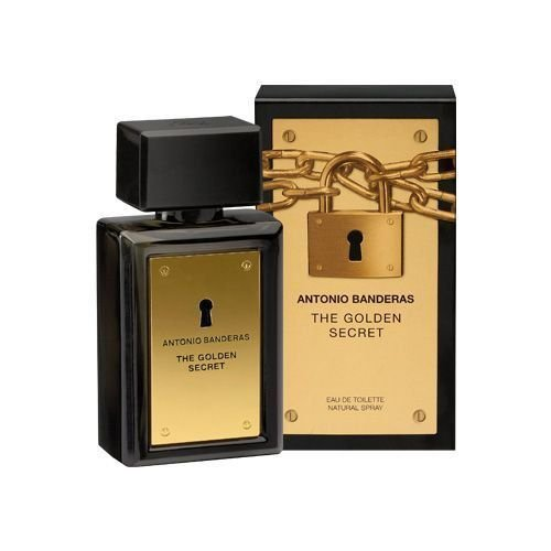 THE GOLDEN SECRET EAU DE TOILETTE MASCULINO ANTONIO BANDERAS