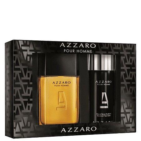 Azzaro Pour Homme Edt 100ml + Desodorante em spray 150ml Gift Set-