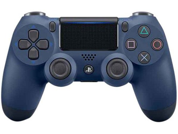Controle PS4 sem Fio Dualshock 4 Sony Azul Midnight Blue