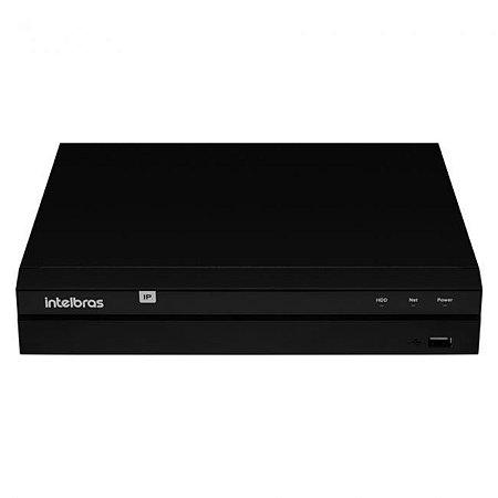 Gravador Digital de Imagem NVR 8MP 4K 16 canais em rede H.265 sem HD NVD 1316 Intelbras