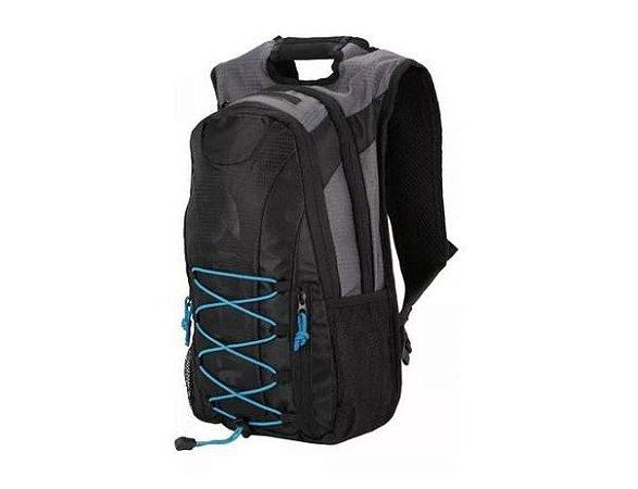 Mochila Hidratação Térmica Adventure Bolsa Bike Atrio 2 litros Preta Multilaser BI051