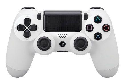 Controle Dualshock 4 - Branco - (Ps4)