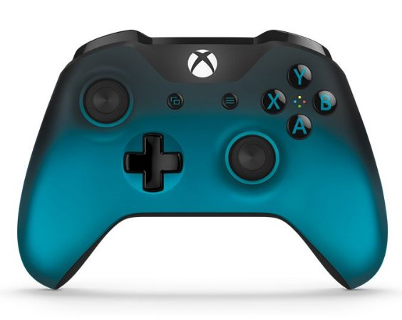 Controle Original Microsoft Wirelless c/ entrada P2 - Ocean Shadow (Xbox One/S)