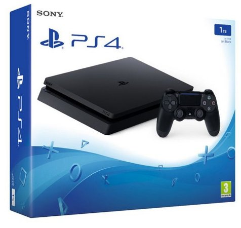 Playstation 4 SLIM 1TB Preto