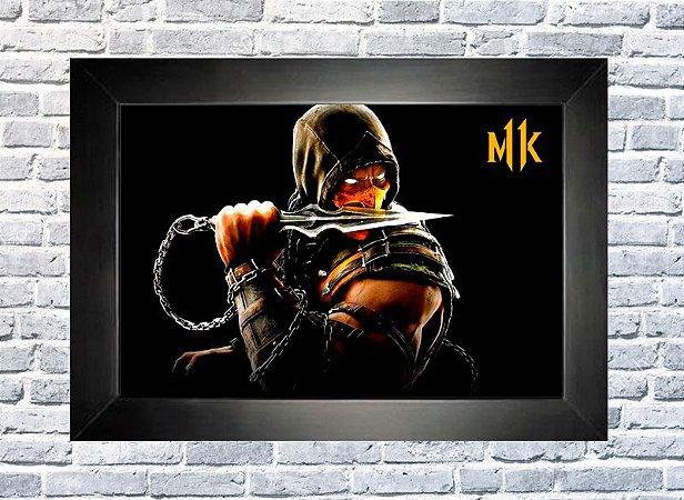 Quadro Mortal Kombat 11