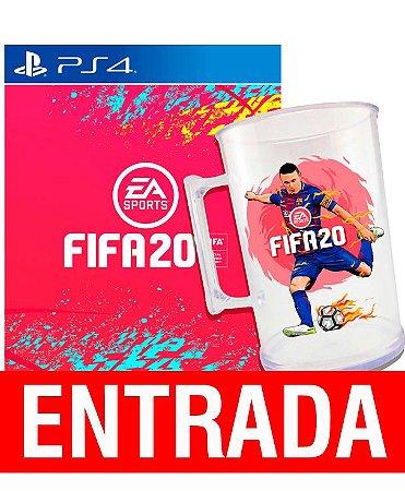 FIFA 20 - PS4 + Brinde Caneca. [ENTRADA] o restante de cem reais você só paga quando o jogo chegar.