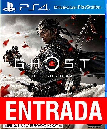 Ghost of Tsushima - PS4 (pré-venda) [ENTRADA] o restante de cem reais você só paga quando o jogo chegar.