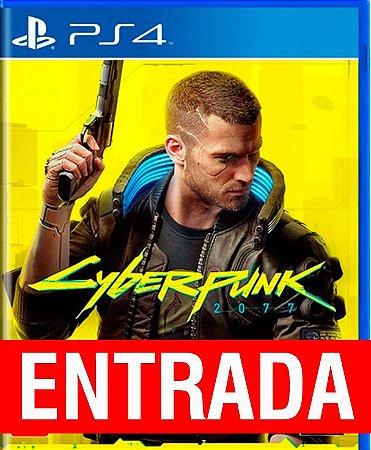 Cyberpunk 2077 - PS4 (pré-venda) [ENTRADA] o restante de cem reais você só paga quando o jogo chegar.