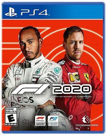 Fórmula 1 - 2020 - PS4 (pré-venda)