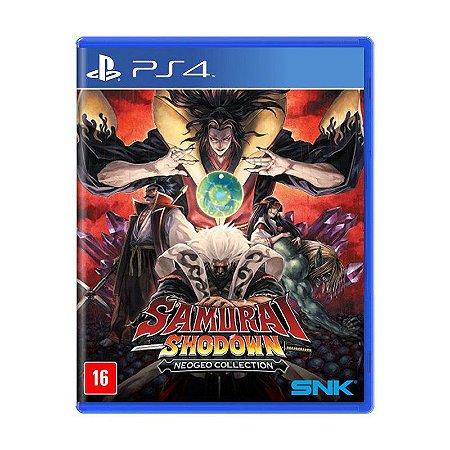 Samurai Shodown Neogeo Collection - PS4 (pré-venda)