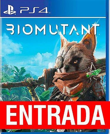 Biomutant - PS4 (pré-venda) [ENTRADA~o restante de cem reais você só paga quando o jogo chegar!