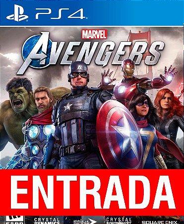 Marvel Avengers - PS4 (pré-venda) [ENTRADA] o restante de cem reais você só paga quando o jogo chegar.