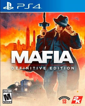 Mafia Definitive Edition - PS4 (pré-venda)