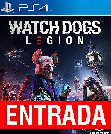 Watch Dogs Legion - PS4 (pré-venda) [ENTRADA] o restante de cem reais você só paga quando o jogo chegar.