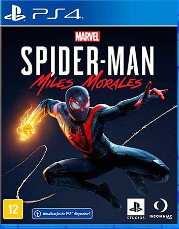 Spider-Man Miles Morales - PS4 (pré-venda)