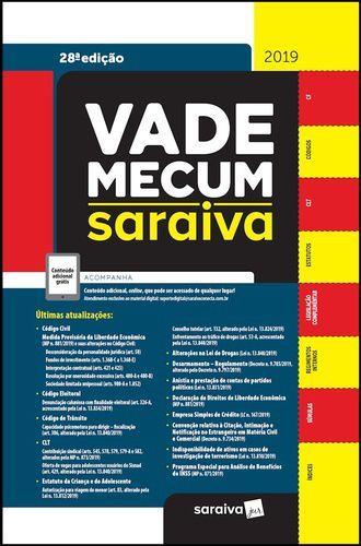 VADE MECUM - Tradicional 27ª Ed. 2019