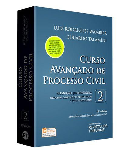 CURSO AVANCADO DE PROCESSO CIVIL VOLUME-2