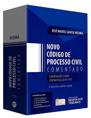 NOVO CODIGO DE PROCESSO CIVIL COMENTADO