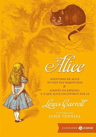 ALICE - AVENTURAS DE ALICE NO PAIS DAS MARAVILHAS -ATRAVES D