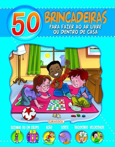50 Brincadeiras para fazer Ao Ar Livre - Azul