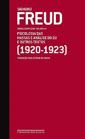 FREUD - OBRAS COMPLETAS VOL. 15