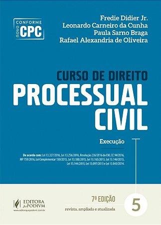 CURSO DE DIREITO PROCESSUAL CIVIL - 5