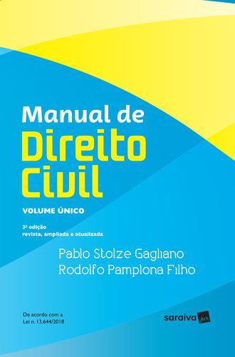 MANUAL DE DIREITO CIVIL - 3ª ED