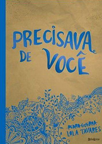 PRECISAVA DE VOCE- CAPA AZUL