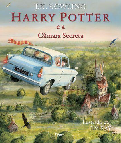 HARRY POTTER - E A CAMARA SECRETA ILUSTRADO