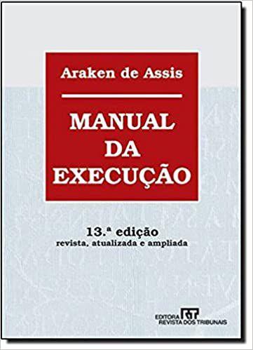 MANUAL DA EXECUCAO